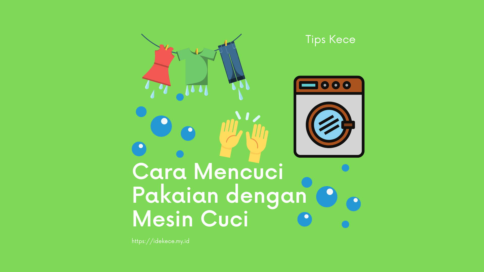 Cara Mencuci Pakaian dengan Mesin Cuci