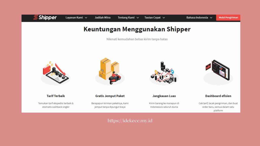 kelebihan jasa pengiringan barang Shipper