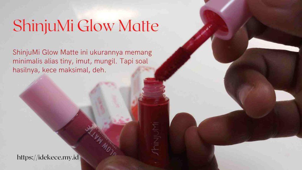 Shinjumi Glowwing matte pink