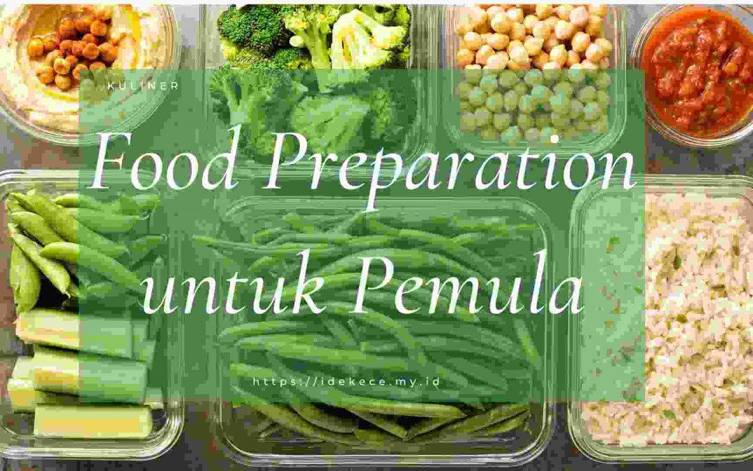 Food Preparation untuk Pemula