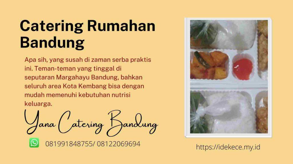 Catering Harian Margahayu Bandung nasi box
