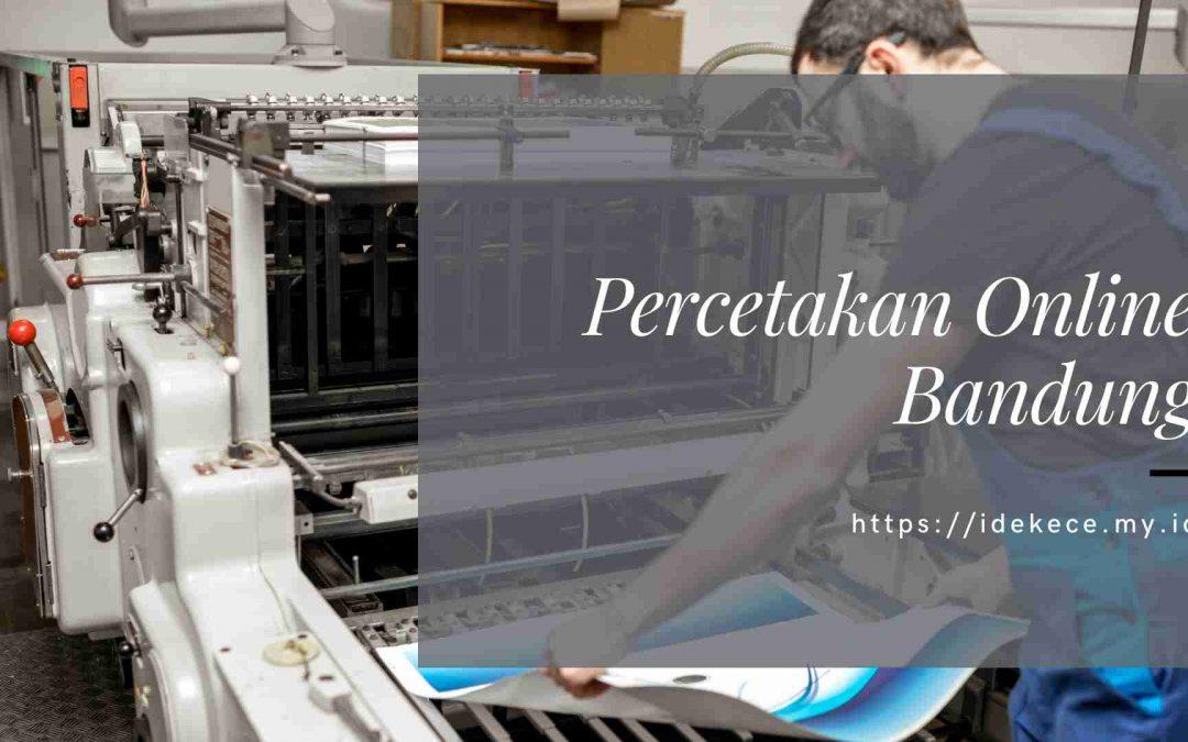 Percetakan Online Bandung
